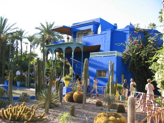 Photo marrakech maroc divers marjorelle jardin for Jardin marrakech